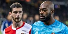 'Italiaanse en Spaanse clubs bekijken Feyenoorder Senesi'