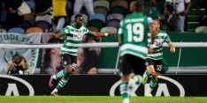 Sporting blijft in spoor van PSV na gelukkige zege op Rosenborg