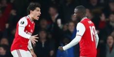 Pépé voorkomt blamage Arsenal, Frankfurt wint zonder Dost