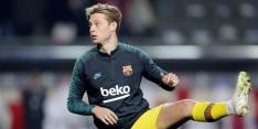 Ballon d'Or: De Jong en De Ligt vallen met Hazard buiten top tien
