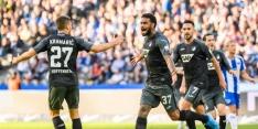 Goal Locadia in 98ste minuut goud waard voor Hoffenheim