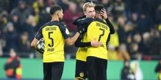 Dortmund verslaat Mönchengladbach, Eintracht dankt Dost