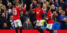 Manchester United bekert door dankzij dubbelslag van Rashford