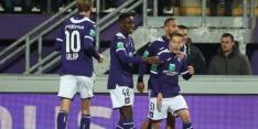 Anderlecht geeft zege tegen KAA Gent in extremis weg