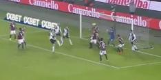 Video: De Ligt maakt in derby zijn eerste doelpunt voor Juventus