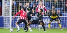 Roda JC morst bij Jong PSV, Volendam wint van Jong Ajax