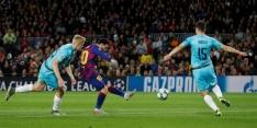 FC Barcelona blameert zich thuis tegen Slavia Praag, zege Leipzig