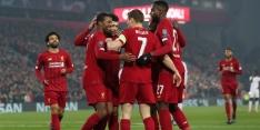 Liverpool wint van Genk en staat bijna in volgende ronde