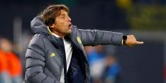 Commotie: Conte steekt middelvinger op naar Juve-voorzitter