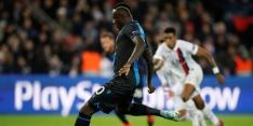 Club Brugge zet Diagne uit selectie na missen penalty tegen PSG