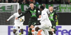 Bruma en Weghorst laten zich met Wolfsburg verrassen door Gent