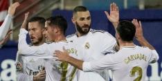 Real Madrid door overtuigende zege aan kop in La Liga