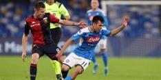 Napoli sluit bewogen week af met bloedeloze remise