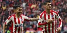 Atlético wint zuinig van Osasuna en springt naar plek vier