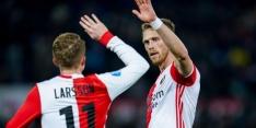 Feyenoord met herstelde Jørgensen, ook Marsman speelt