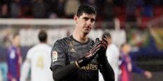 """Courtois: """"Barça tot kampioen uitroepen zou ik niet juist vinden"""""""