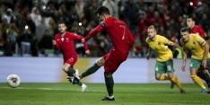 Portugal blijft Servië voor dankzij hattrick van Ronaldo