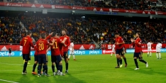 Spanje declasseert Malta, Zweden via Roemenië naar EK