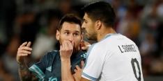 """Messi en Cavani ruziën in Tel Aviv: """"Wil je vechten?"""""""