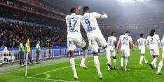Absentie Memphis deert Lyon niet tegen scorende Dolberg
