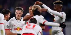 RB Leipzig na krankzinnige slotfase naar laatste zestien