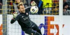 'Marsman ook tegen PEC Zwolle in het doel van Feyenoord'