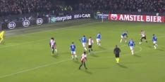Video: Toornsta zet Feyenoord op voorsprong tegen Rangers