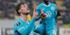 Weghorst schiet Wolfsburg naar de volgende ronde