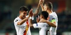 Groep J: Kluivert houdt AS Roma in de race voor volgende ronde