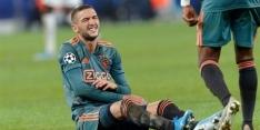 Ziyech twijfelgeval bij Ajax, Labyad niet inzetbaar