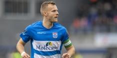 Stegeman geeft 'op en top prof' Thy kans tegen Feyenoord
