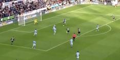 Video: Willems schuift de 1-1 binnen tegen Manchester City