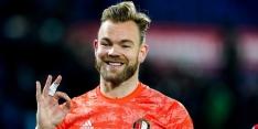 Marsman minimaal nog enkele weken in het Feyenoord-doel