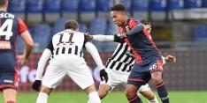 Nederlander Cleonise (17) debuteert als basisspeler voor Genoa