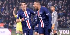 PSG en Marseille maken op eigen veld geen fout in Franse top