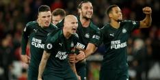 Newcastle United wint mede door curieuze goal bij Sheffield