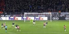 Video: Ihattaren schiet PSV op gelijke hoogte met Rosenborg