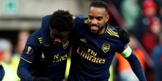 Arsenal en Eintracht Frankfurt halen opgelucht adem