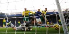 Leicester wint niet van Norwich, Chelsea verslikt zich