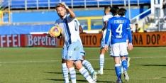 Lazio houdt druk op Inter en Juventus door winst in blessuretijd