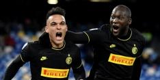 Inter dankzij topduo Lukaku-Martínez weer gedeeld koploper