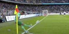 Video: Cillessen-concurrent let niet op, Kroos draait corner binnen