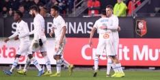 Invaller Strootman matchwinner in Franse topper tegen Rennes