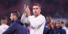 Invaller Strootman naar tweede plaats, teleurstellend Anderlecht