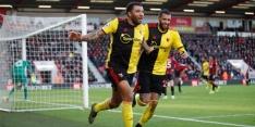 Opmars Watford duurt voort dankzij ruime zege bij Bournemouth