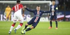 PSG en Monaco delen punten na doelpuntenfestijn in Parijs