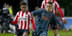 Minitopper tussen Jong PSV en Jong Ajax eindigt onbeslist