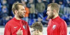 Slecht nieuws bij FC Utrecht: Janssen hele seizoen uitgeschakeld