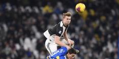 Juventus zonder De Ligt tegen Roma, dat start met Kluivert