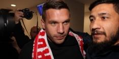 Podolski na pensioen terug bij Köln, Newcastle verlost Schalke 04